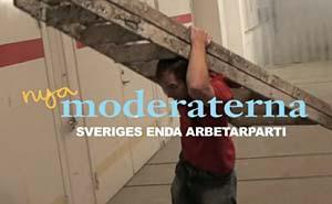 """Elfte timmen, bild från """"Moderaternas valfilm"""" på SVT Play."""