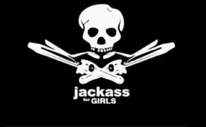 Jackass för tjejer. Bild från video