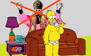 Homer är inte katolik