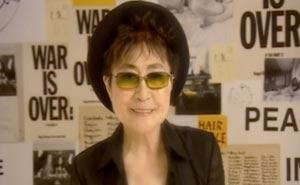 Kändisarnas hälsningar till Lennon. Bild från video