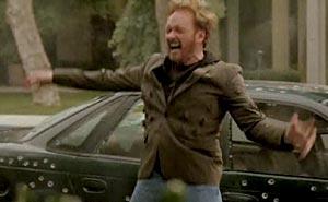Premiär: Conan slog Jay Leno. Bild från video